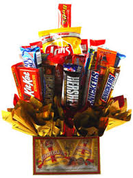 junk food basket junk food gift basket by personalized gift baskets