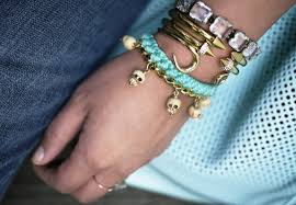 diy bracelet with charm images Style and bling diy bracelets made with chains jpg