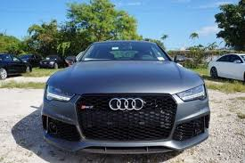 audi rs7 lease 1 of 50 matte grey rs7 turbo we lease finance david