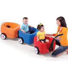 Radio Flyer Push Buggy Complete Choo Choo Train Combo Kids Toy Combo Step2