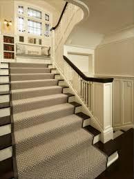 treppe teppich der treppenteppich als akzent im eingangsbereich