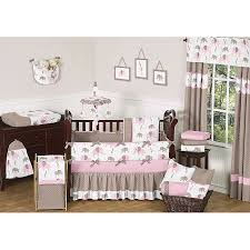 Jojo Crib Bedding Sweet Jojo Designs Pink Mod Elephant 9 Crib Bedding Set