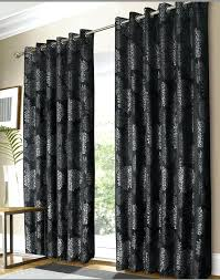 Blackout Curtains Black Gray Black Curtains Black And Silver Curtains Images Grey Blackout