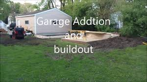 Two Story Storage Sheds Sheds Unlimited Quick Over View Of Garage Addition And Shed Youtube