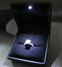 engagement ring boxes that light up wedding ring box with led light new light up ring box dream ring