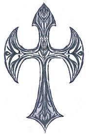 pin cross w ribbons large copy3 largejpg tattoo on pinterest
