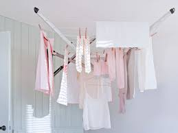 Hanging Clothes Rack From Ceiling 10 Best Clothes Drying Racks The Independent