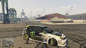 subaru wrx drift car all wheel drive awd drift handling gta5 mods com