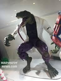 marvel thanksgiving hascon marvel legends spider man lizard series photos marvel