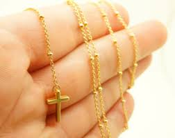 gold rosary gold rosary necklace etsy