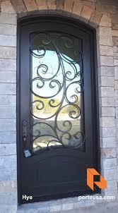 http porteusa com wrought iron single door hye by porte color