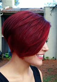 redhair nape shave shaved nape burgandy pixie hairstyles pinterest shaved nape