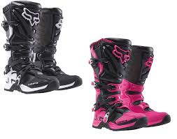 red dirt bike boots fox racing womens mx atv offroad motocross comp 5 boots ladies 16450