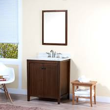 maykke nessa 30 inch bathroom vanity set in birch wood american