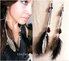 how to make feather earrings with top 10 diy flowing feather earrings top inspired