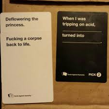 Cards Meme - cards against humanity winning combo meme by lgm432 memedroid