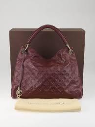 louis vuitton artsy mm bag louis vuitton raspberry monogram empreinte leather artsy mm bag