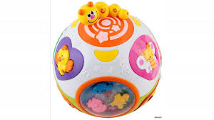 baby toys with lights and sound memtes baby crawl play learning baby ball toy with lights and
