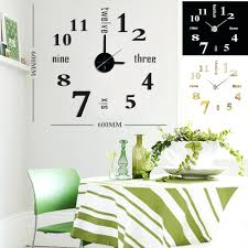 wall clocks diy modern time design wall clock diy wall clock