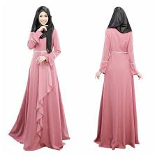 maxi dress vintage kaftan abaya islamic muslim cocktail womens sleeve