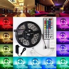 color changing led strip lights with remote lightahead 174 ip65 300 led water resistant flexible strip light