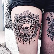 55 thigh tattoos to accentuate your feminine