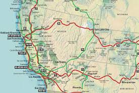 map of usa west coast map of the west coast of mexico major tourist pacific
