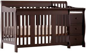 Mini Crib With Attached Changing Table Changing Tables Mini Crib With Attached Changing Table Nursery