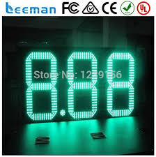 leeman 2 digits led bar counter countdown timer switch led number