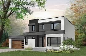 bureau et maison maison cubique contemporaine avec garage 3 chambres bureau