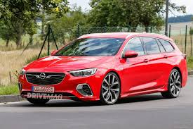 opel red this is what the opel insignia sports tourer looks like in a gsi suit