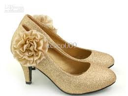 gold shoes for wedding wedding shoe ideas low heel shoes for wedding exle low
