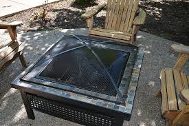 Firepit Screen Square Pit Screens Square Pit Screen Replacement