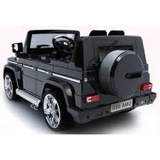 mercedes benz jeep black mercedes g55 amg suv licensed 12v kids battery electric ride on