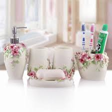 Mickey Mouse Bathroom Accessory Set Princess Style Handcraft Bathroom Set Wedding Decor Bath Accessory