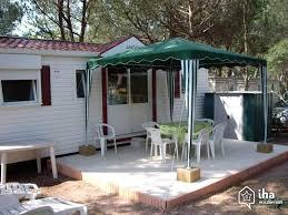 location mobil home 3 chambres location mobil home dans un cing à fréjus iha 57503
