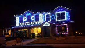 dallas cowboys christmas lights txgirl2009 on twitter as seen in my friends neighborhood love it