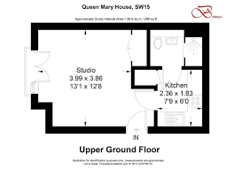 studio for sale in queen mary house holford way roehampton sw15