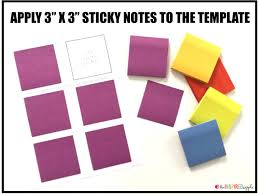 how to print on post it notes tutorial the inspired apple