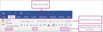 customize ribbon customize the ribbon in office office support