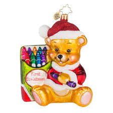 christopher radko ornaments 2016 radko color me cute ornament