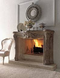 decorations alluring rustic stone fireplace mantel home interior