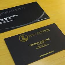 foil business card printing services alfox printing services