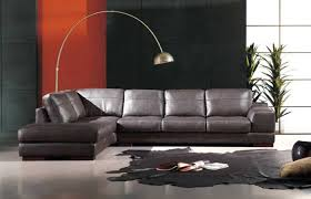 Contemporary Leather Sectional Sofa by He 260 Modern Contemporary Leather Sectional Sofa Leather Sectionals
