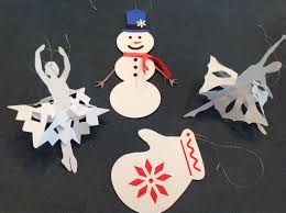 papercrafts and other fun things when it snows make christmas