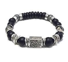 mens beaded jewelry bracelet images Men 39 s black onyx bracelet jewelry for men men 39 s beaded bracelet jpg