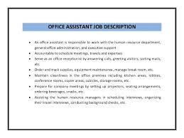 sample bookkeeper job description sample job description office manager bookkeeper best resumes