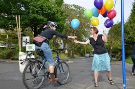 free balloons random acts of bikiness free balloons kick clinton