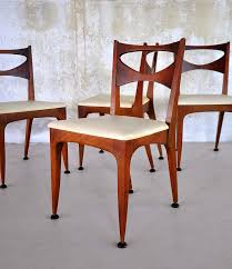 anonymous walnut u0027profile u0027 side chair by drexel 1950s chaired
