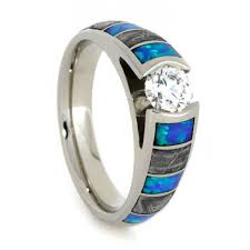opal wedding ring opal wedding ring set diamond engagement ring with men s